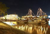 Bến Bạch Đằng lung linh trong lễ hội thuyền đăng