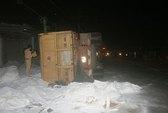 Khiếp hãi xe chở bauxite