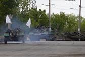 Quân Ukraine bị phục kích gần Slavyansk