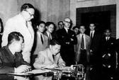 Ký kết hiệp định Genève: Phân định vĩ tuyến - Đòn cân não