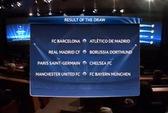 M.U đối đầu Bayern Munich, Real Madrid tái chiến Dortmund