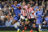 Chelsea thua sốc Sunderland, mở toang hy vọng cho Liverpool