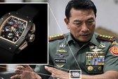 """Tư lệnh quân đội Indonesia dùng đồng hồ """"hàng nhái"""""""