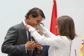"""Nadal trở thành """"Công dân danh dự"""" của thành phố Madrid"""