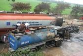 Xe chở dầu cháy tại kho xăng dầu, 2 người bỏng nặng