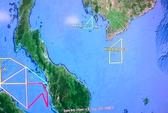 Malaysia dừng tìm kiếm trong vùng biển Việt Nam