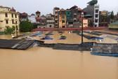 Lụt kinh hoàng tại TP Lạng Sơn sau bão Thần Sấm