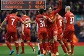 Thắng kịch tính Swansea, HLV Liverpool
