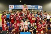Bình Dương ngất ngây trong ngày đón cúp vô địch V-League 2014