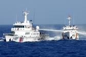 5 tàu Trung Quốc vây ép, đâm móp 1 tàu kiểm ngư Việt Nam