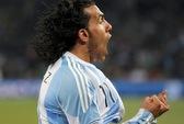 Tevez bị loại khỏi tuyển Argentina dự World Cup 2014