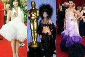 Những bộ đầm xấu nhất trên thảm đỏ Oscar