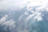 AN26 phát hiện vệt màu vàng dài 20 km ở gần mũi Cà Mau