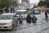 Mưa lớn liên tục, nước chưa kịp rút lại ngập thêm
