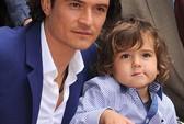 Orlando Bloom hớn hở cùng con trai đi nhận sao