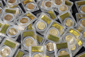 Rao bán kho báu đồng tiền vàng cổ