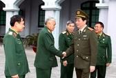 Đại tướng Trần Đại Quang làm việc với Tổng cục II-Bộ Quốc phòng