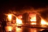 Cháy lớn ở chợ phố Hiến, thiệt hại cả trăm tỉ đồng
