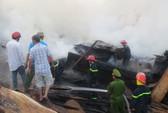 Cháy xưởng gỗ, thiệt hại hơn 2 tỉ đồng