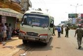 Nữ cán bộ Cục Thống kê bị xe khách tông chết