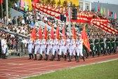 Điện Biên Phủ rợp cờ hoa trong Lễ kỉ niệm chiến thắng