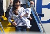 Bỏ cha ở nhà, Hoàng tử bé George cùng mẹ du hí nước ngoài