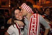Chùm ảnh Atletico lên ngôi La Liga đầy cảm xúc