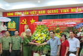 Báo Người Lao Động chúc mừng ngày truyền thống Công an Nhân dân