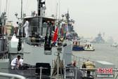 Máy bay, tàu chiến Hàn Quốc kè sát cuộc tập trận Nga-Trung