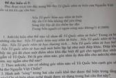 Vụ Trung Quốc đặt giàn khoan trái phép xuất hiện trong đề Văn lớp 12