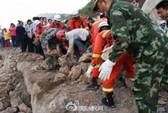 Động đất ở Trung Quốc: Công tác cứu hộ gặp khó
