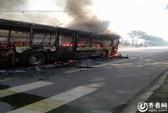 Trung Quốc: Xe buýt bốc cháy, thiêu sống 1 phụ nữ