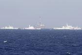 Trung Quốc tập trận bảo vệ giàn khoan ở vịnh Bắc Bộ