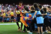 Barca gian lận thuế, Neymar bênh vực cha