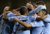 Man City vượt Arsenal chiếm ngôi đầu bảng