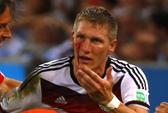Schweinsteiger đổ máu vì chức vô địch của Đức