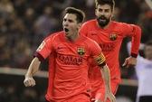 Neymar thoát thẻ đỏ, Barcelona thắng khó phút bù giờ