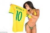 Neymar được các hoa hậu vòng 3 bầu là người hấp dẫn nhất