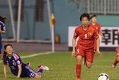 Việt Nam – Nhật Bản 0-4: 40 phút kiên cường của các cô gái Việt