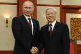 Tổng Bí thư Nguyễn Phú Trọng và Tổng thống Putin sắp hội đàm