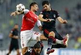 Ramsey nhận thẻ đỏ, Arsenal hòa chật vật trên sân Besiktas
