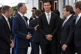Ronaldo được tổng thống Bồ Đào Nha vinh danh