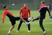 M.U run rẩy với chấn thương của Rooney