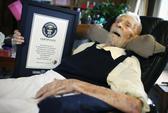 Người đàn ông cao tuổi nhất thế giới qua đời