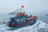 Xác định tọa độ của tàu cá Quảng Ngãi lúc bị Trung Quốc bắt