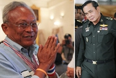 Thái Lan: Quân đội bắt tay thủ lĩnh biểu tình?