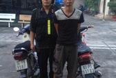 Cảnh sát cơ động bắt 1 tên trộm xe máy