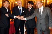 Pháp nghiêng về Nhật trong căng thẳng với Trung Quốc