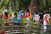 Hội Hoa Xuân TP HCM: Hơn 6.000 hiện vật hội tụ