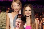 """Taylor Swift và Selena Gomez """"nghỉ chơi"""" vì Justin Bieber"""